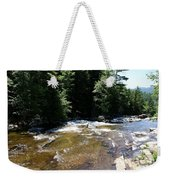 River Running Over Rocks Weekender Tote Bag