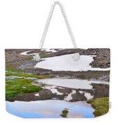 River San Juan And Lakes At Sunset Weekender Tote Bag