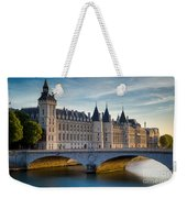 River Seine With Conciergerie Weekender Tote Bag