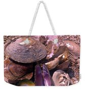 River Shells Weekender Tote Bag