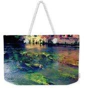 River Sile In Treviso Italy Weekender Tote Bag