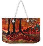 River Sunrise - Lothlorien Weekender Tote Bag