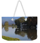 River Thames At Cookham Weekender Tote Bag