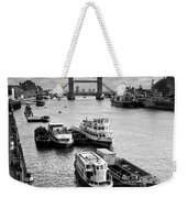 River Thames View Weekender Tote Bag