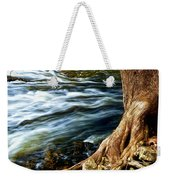 River Through Woods Weekender Tote Bag