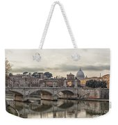 River Tiber In Rome Weekender Tote Bag