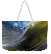 River Wave Weekender Tote Bag