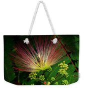 River Wildflowers Weekender Tote Bag
