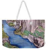 River With No End Weekender Tote Bag