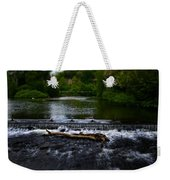 River Wye - In Peak District - England Weekender Tote Bag