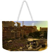 Riverfront Concert Weekender Tote Bag by Diana Powell