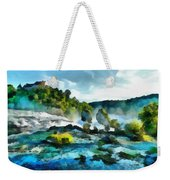 Riverscape Weekender Tote Bag
