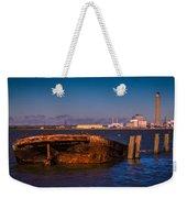 Riverside Wreck Weekender Tote Bag by Dawn OConnor