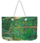 Riverview Reflections Weekender Tote Bag