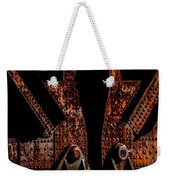 Rivets Number Three Weekender Tote Bag by Bob Orsillo