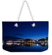 Riviera Blue Weekender Tote Bag
