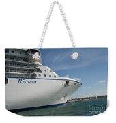 Riviera Ocean Liner Weekender Tote Bag