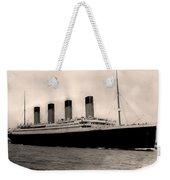 Rms Titanic Weekender Tote Bag