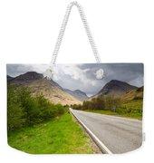 Road Into Glen Coe Weekender Tote Bag