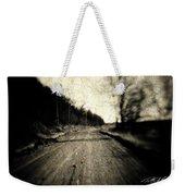 Road Of The Past Weekender Tote Bag