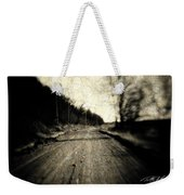 Road Of The Past Weekender Tote Bag