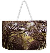 Road Of Trees Weekender Tote Bag
