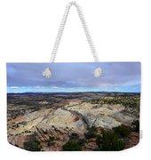 Road Over Slick Rock Weekender Tote Bag