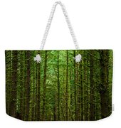 Road Through The Woods Weekender Tote Bag