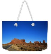 Road To Monument Valley V2 Weekender Tote Bag