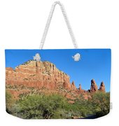 Road To Mother And Child Sedona Arizona Weekender Tote Bag