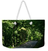 Road To Nature Weekender Tote Bag