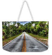 Road To No Where Weekender Tote Bag