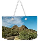 Road To The Two Humped Camel Weekender Tote Bag