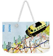 Road Trip - The Pch Weekender Tote Bag by Benjamin Yeager