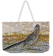 Roadrunner With Lizard Weekender Tote Bag
