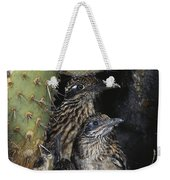 Roadrunners In Nest Weekender Tote Bag
