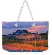 Roadside Attraction At Roswell Weekender Tote Bag