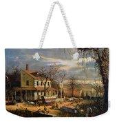 Roadside Inn, 1872 Weekender Tote Bag