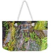 Roadside Waterfall. Mount Rainier National Park Weekender Tote Bag