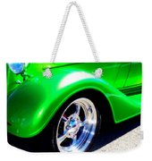 Roadster Wheels Weekender Tote Bag