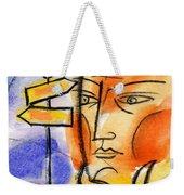 Roadway Weekender Tote Bag by Leon Zernitsky