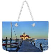 Roanoke Marches Lighthouse Weekender Tote Bag