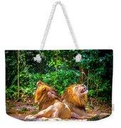 Roaring Lions Weekender Tote Bag