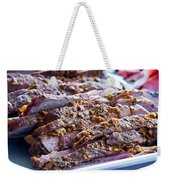 Roast Lamb Is Served Weekender Tote Bag