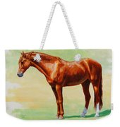 Roasting Chestnut - Morgan Horse Weekender Tote Bag