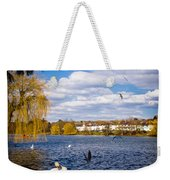 Roath Park Lake Weekender Tote Bag