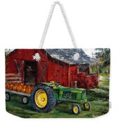 Rob Smith's Tractor Weekender Tote Bag by Lee Piper