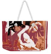 Robert Mitchum Hauls Angie Dickinson Collage Young Billy Young  Old Tucson Arizona 1968-2013  Weekender Tote Bag