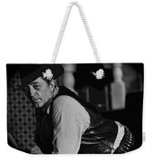 Robert Mitchum Leaning On Poker Table Young Billy Young Set Old Tucson Arizona 1969-2008 Weekender Tote Bag