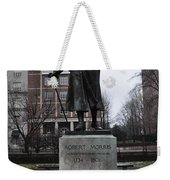 Robert Morris Financier Of The American Revolution Weekender Tote Bag by Bill Cannon